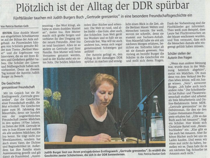 Plötzlich ist der Alltag der DDR spürbar