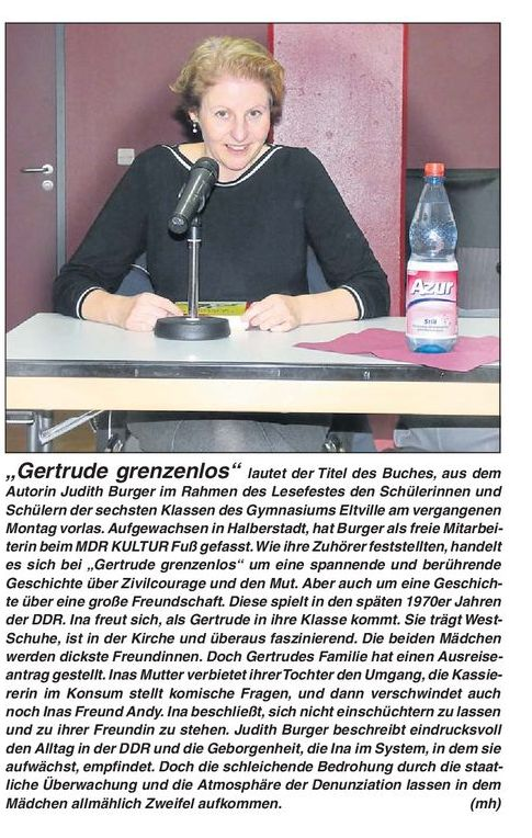 Gertrude grenzenlos